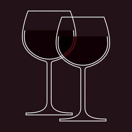 Wineglasses Stock Vector - 14742665