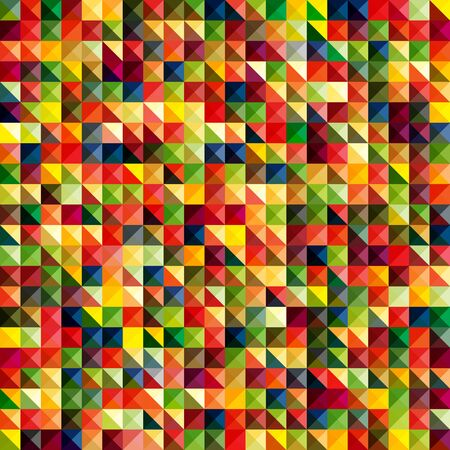 pixelate: Colorful abstract pattern Illustration