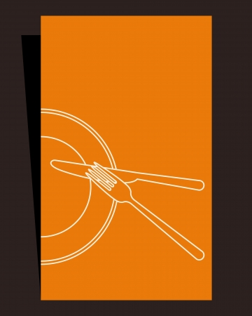Restaurant menu illustartion Vector