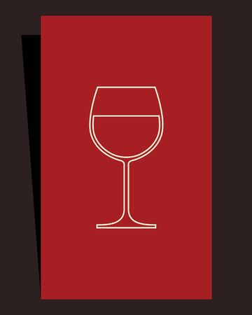 Wine list design  Stock Vector - 15124624