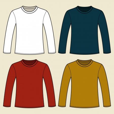 t shirt model: A maniche lunghe T-shirt modello