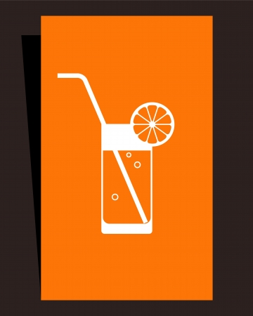 Cocktail menu. Card design Vector
