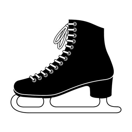 ice skating: Ice skate