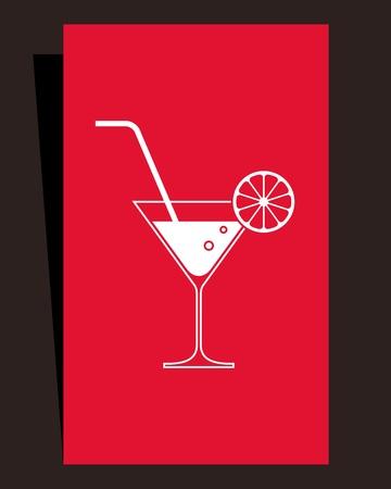 cocktail cold: Cocktail menu  Card design