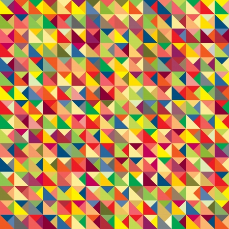 repeat square: Colorful abstract pattern Illustration