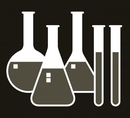 material de vidrio: Cristalería de laboratorio