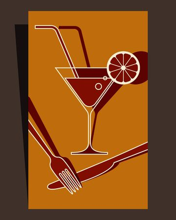 snack bar: Menu design