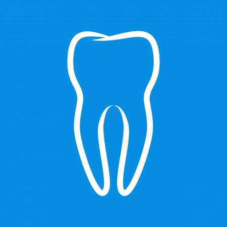 dental pulp: Sign of tooth Illustration