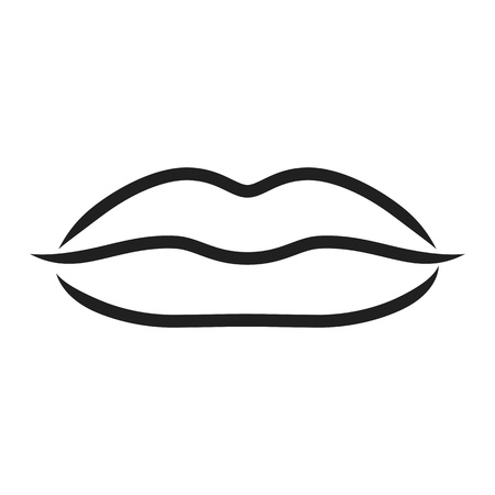 Lips - illustration Vector