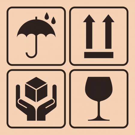 Symboles d'emballage