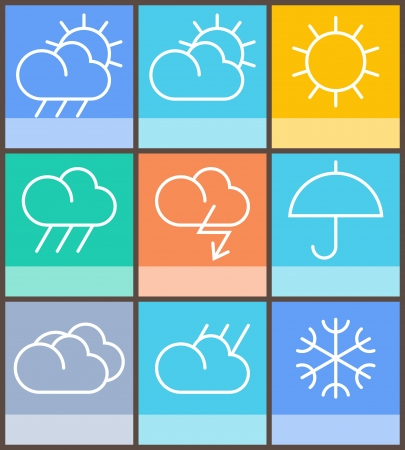weather sign Stock Vector - 17930299