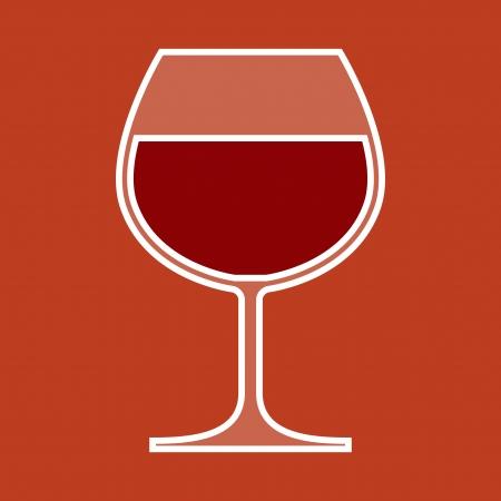 Wine Glass Stock Vector - 18159546
