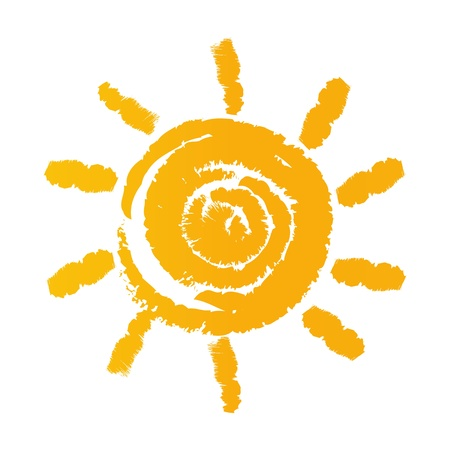 illustration of sun Vector
