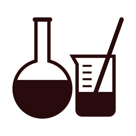 laboratory equipment: Laboratory equipment isolated on white background