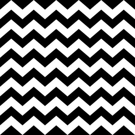흑백에서 원활한 지그재그 패턴입니다. 추상적 인 배경 스톡 콘텐츠 - 36912081