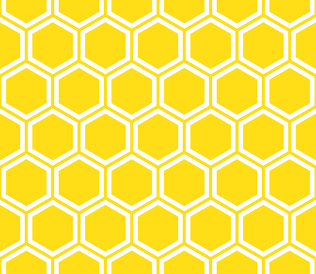 Honeycomb seamless pattern. Abstract geometric background