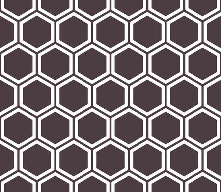 Honeycomb seamless pattern. Abstract geometric background