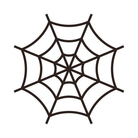 Spiderweb. Cobweb icon isolated on white background