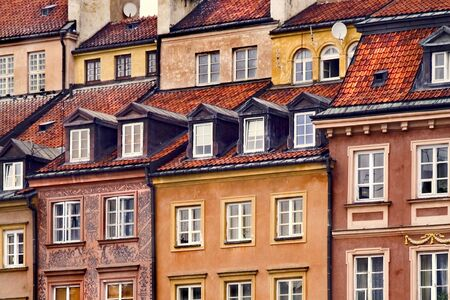 The old city (Stare Miasto) in Warsaw, Poland 写真素材