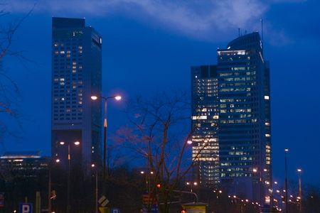 warsaw: Night Warsaw
