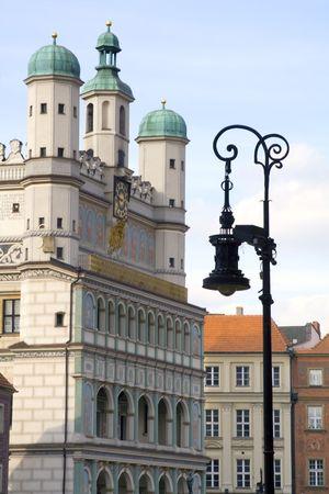 Old city in Poznan Stok Fotoğraf