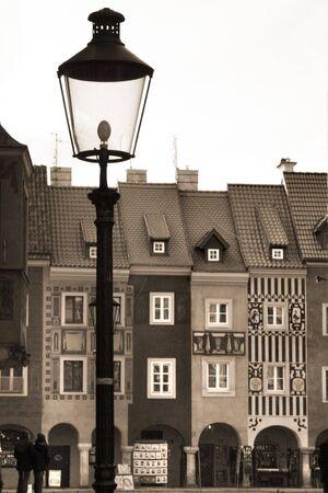 poznan: Old city in Poznan Stock Photo