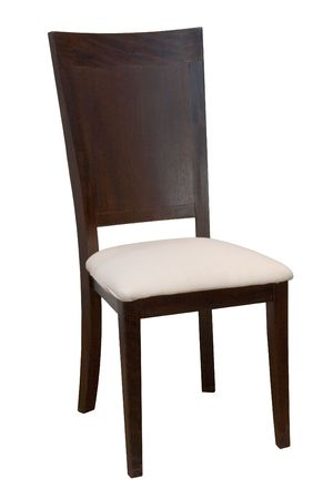 comfortable chair: Comfortable chair on a white background