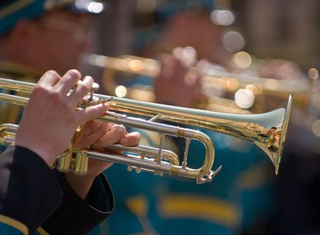 Central Military Band of the Ministry of Defence of Kazakhstan at the Festival of Military Bands, St.Petersburg, Russia, 12.06.2008 photo