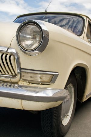 russian car: Old Russian car Volga GAZ-21, 1960th
