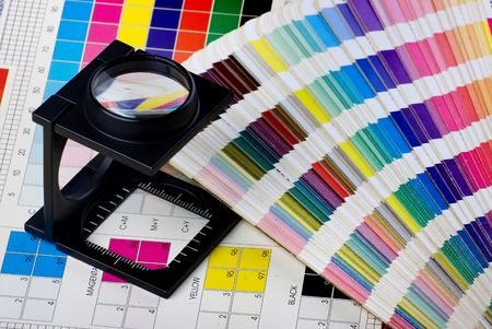 printing press: Press color management - print production