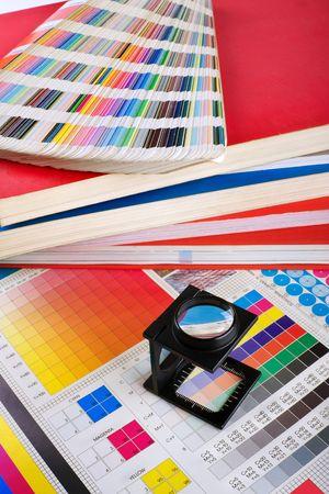 Presse Color Management - Print-Produktion Standard-Bild - 4649970