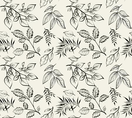 Vintage design voor je persoonlijke omslag. Gravure van lentebladeren. Het thema voor het menu. Hop textuur illustratie in de gravure stijl. Vector illustratie