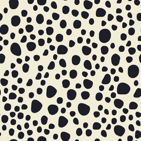 Seamless bright abstract pattern. Stylish abstract background.Seamless small dot pattern for textile design. Archivio Fotografico - 129489620