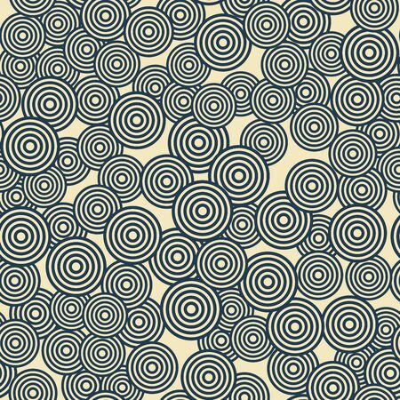 pattern is seamless, geometric, circle, monochrome Standard-Bild - 129489774
