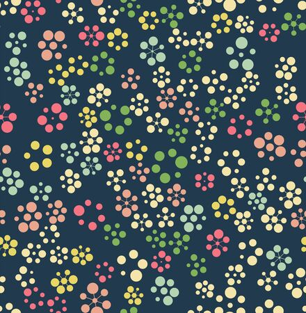 pattern is seamless, geometric, circle Archivio Fotografico - 129489817