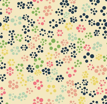 pattern is seamless, geometric, circle Archivio Fotografico - 129489813