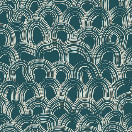 Seamless abstract pattern. Stylish abstract background Ilustracja