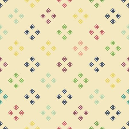Abstract geometric pattern with lines. Vector, fabric abstract seamless background, background with hand drawn elements. Vintage motifs. old style