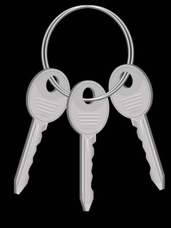 sheaf: Gavilla de llaves de la casa de un anillo en un vector