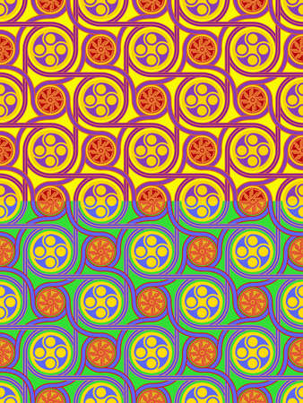 seamless a background with celtic pattern Stock Vector - 11499242