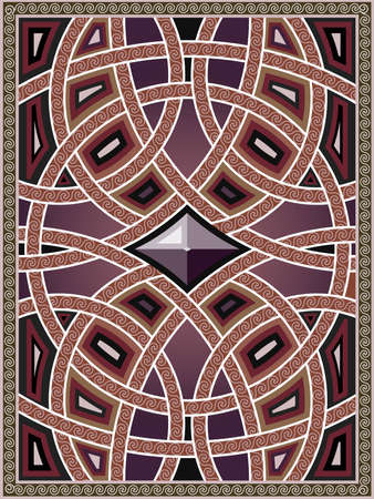 background with the arabian patterns royalty free cliparts vectors