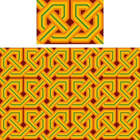 seamless a background celtic pattern Stock Vector - 15773046