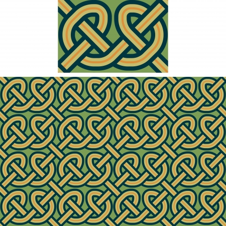 seamless a background celtic a pattern Stock Vector - 15773052