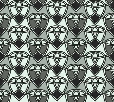 seamless a background celtic a pattern Stock Vector - 15857192