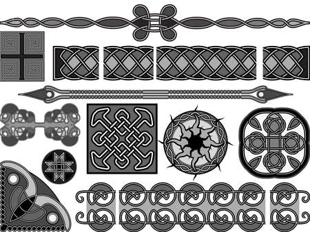 interlacing: Elements of design in medieval celtic style