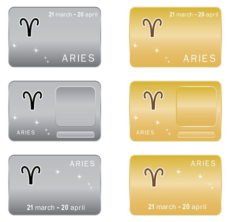 zodiacal sign: Signo zodiacal Aries.