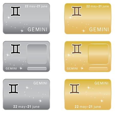 zodiacal sign: Signo zodiacal de G�minis.