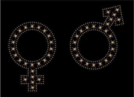 tendencies: Sign of men and women
