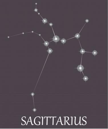 zodiacal sign: Signo zodiacal Sagitario.