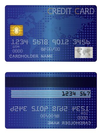 Credit Card of the stars Stock Vector - 20679315